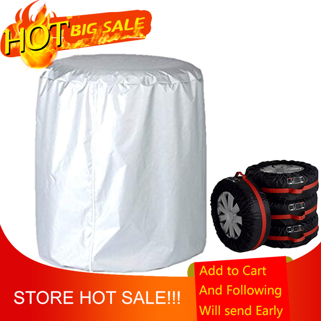 Auto Car Vehicle Tire Case Spare Tyre Cover Garage Automobile Tire Accessories Protector Tire Storage Bag Car Covers S/L Size