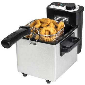 Deep-fat Fryer Cecotec Cleanfry 1,5 L 1000W Inox