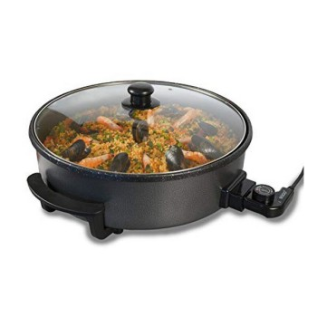Multifunctional Electric Saucepan Sogo PIZSS10105 Ø 42 cm 1500W Black