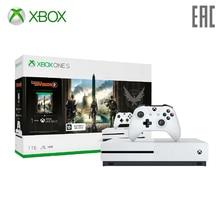 Игровая консоль Xbox One S 1 ТБ с игрой Tom Clancy's The Division 2+ 1 месяц Xbox Game Pass+ 1 месяц Xbox Live Gold