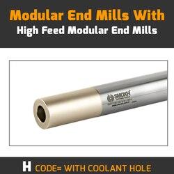 SMVT D15 C16 M08 L120 H-WITH otwór chłodziwa modułowe frezy z wymienną wkładką