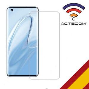 Защитная пленка ACTECOM для Xiaomi Mi 10 Cristal Templado Xiaomi Mi 10 9H 2.5D стекло премиум класса 0,3 мм без cubre bordes curvo
