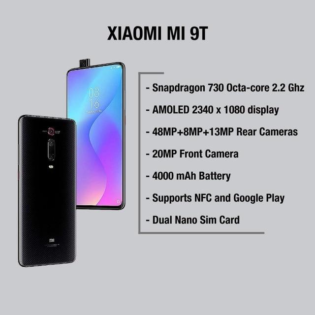 Global Version Xiaomi Mi 9T 128GB ROM 6GB RAM (Brand New / Official) mi9t 128GB 3