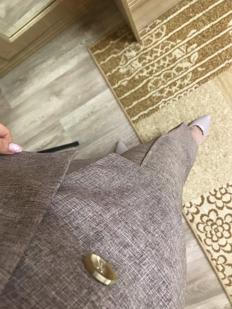 Women Suit 2 Piece Sets Casual Blazer High Waist Pant Office Lady Notched Jacket Pant Suits Femme set reviews №5 77075
