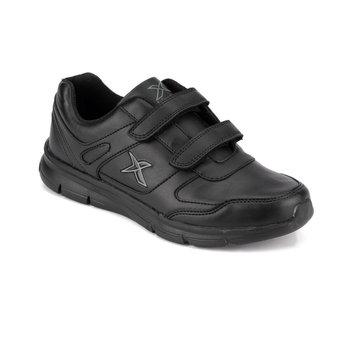FLO ADUN II 9PR czarne męskie buty do biegania KINETIX tanie i dobre opinie Sztuczna skóra