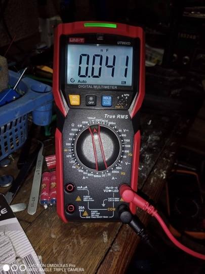 Multímetros Amperímetro Tester Resistência