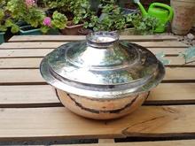 Vintage kute miedziane duże garnki Beg_1755 291635878 tanie tanio