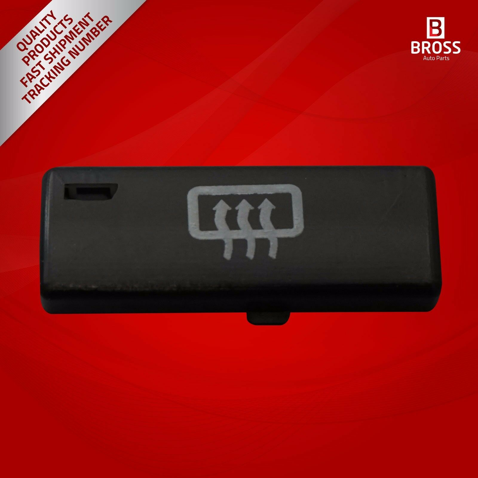 BDP88-10 1 Piece Heater Climate Control Air Conditioning Switch Button Cover #10 For 5 Series X5 E53 2000- 2007 E39 1995-2003