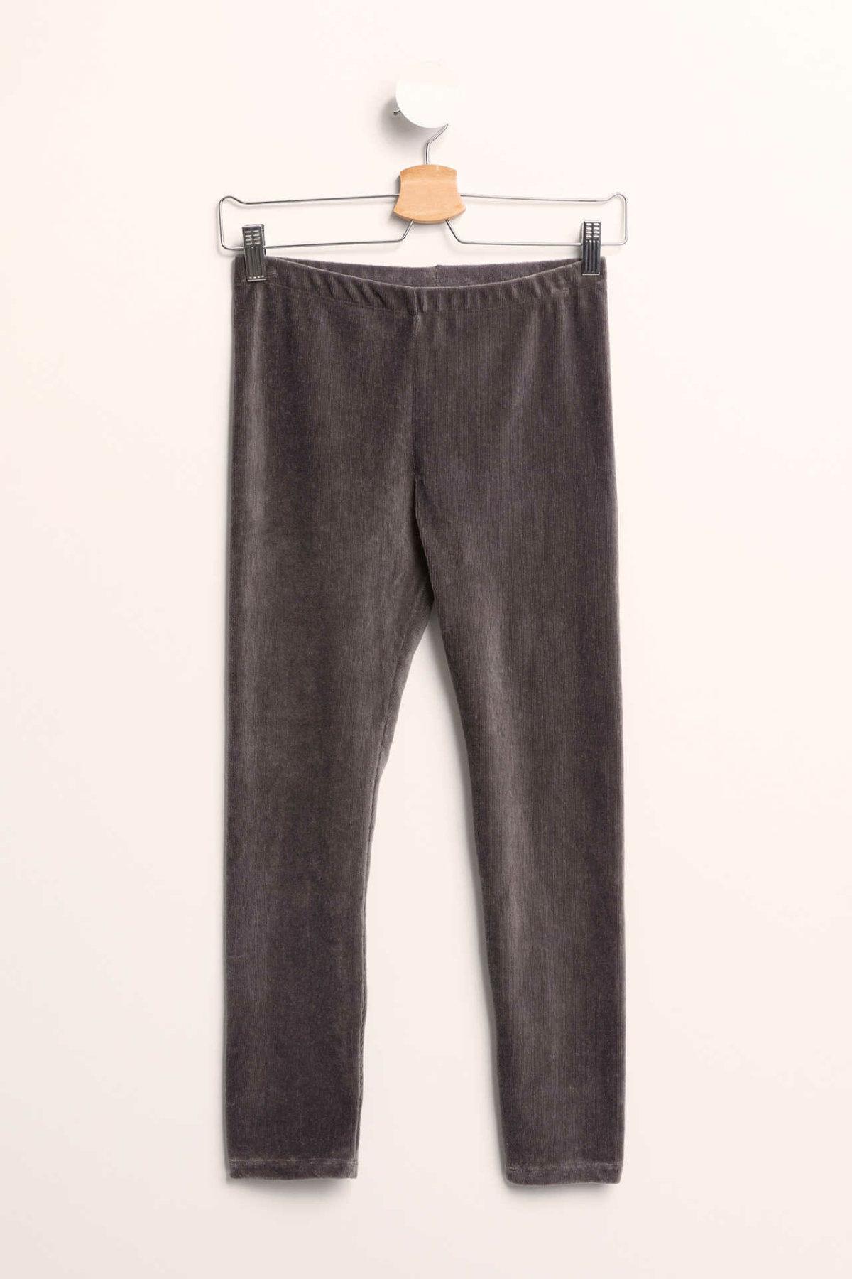 DeFacto Girl Autumn Solid Color Slim Leggings Girls Black Grey Color Elastic Long Pants Girl Casual Skinny Leggings-K8562A618CW