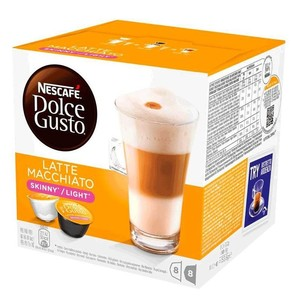 Latte Macchiato LIGHT, 8 + 8 capsules, 8 services