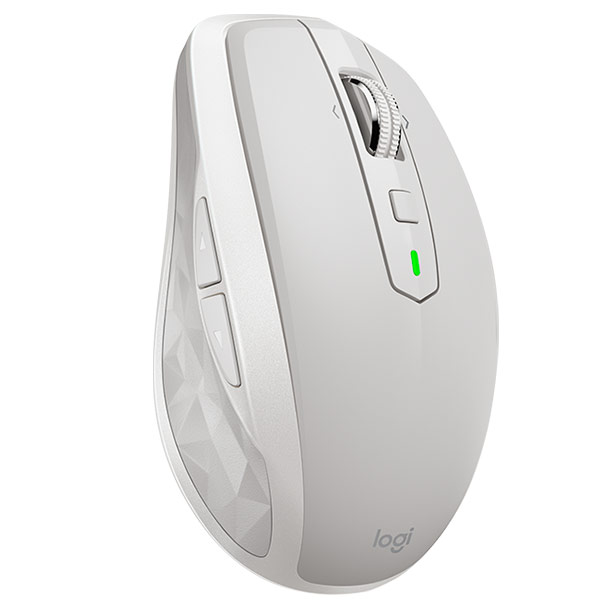Mouse Logitech Anywhere 2 Wireless 2.4 GHz Unifying AND Bluetooth (3 Devices Simultaneos) Clear Grey P/n: 910-005155