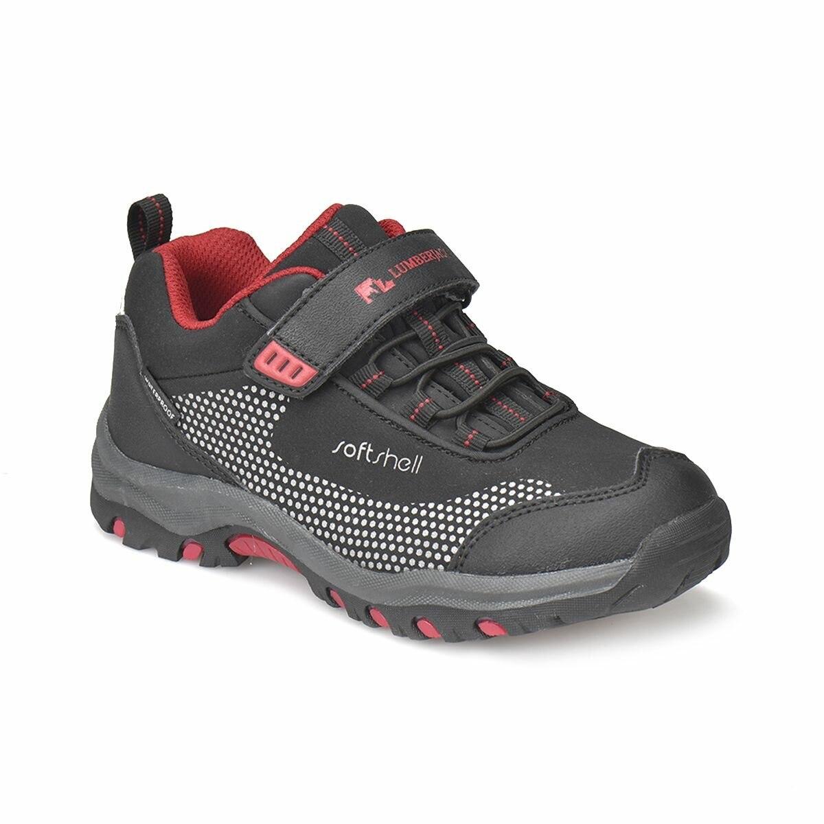FLO FULLER Black Unisex Children Shoes LUMBERJACK