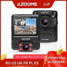 Originele Azdome GS65H Dash Cam Mini Dual Lens Auto Dvr Novatek 96655 Full Hd 1080P Auto Camera Nachtzicht voor Uber Lyft Taxi
