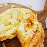 """#美食说出""""新年好""""#杏仁奶酥花环面包的做法图解23"""