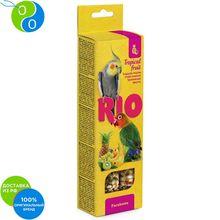 RIO Палочки для средних попугаев с тропическими фруктами(75 г