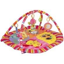 Baby child Craft Happy Birds Musical Play Mats-Pink fun activity
