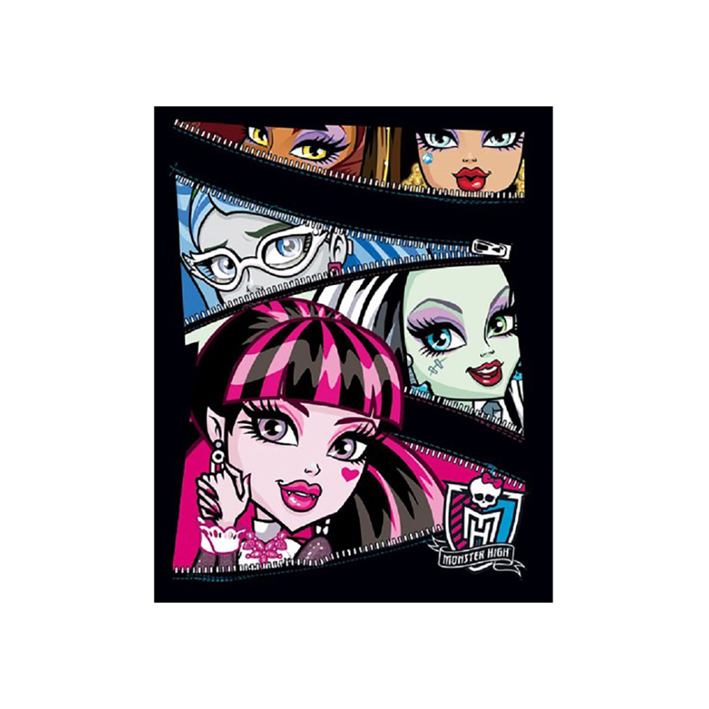 Notebook Monster High 40 sheets cage in stock