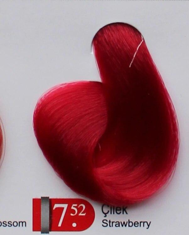 Coloração de Cabelo de Morango Juntamente com 3 Akos Pintura Vl.oksidan Ade 291349642 7.52 20