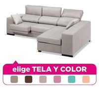 Sofa Chaise Longue  3 4 seats  Choose Fabric and Color ref 74 Chaise Lounge    -