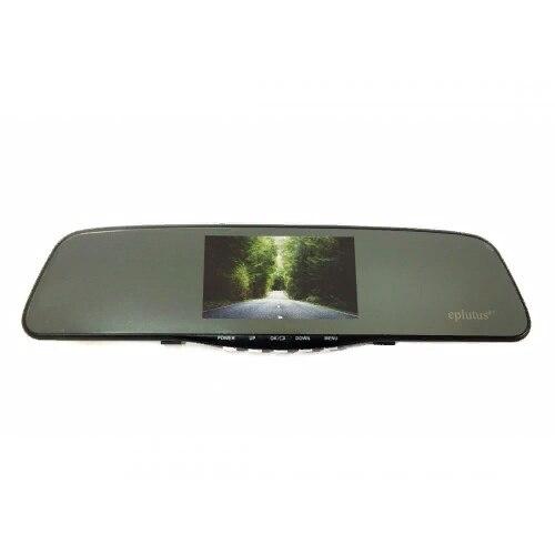 Автомобильный видеорегистратор-зеркало Eplutus D-10 с сенсорным экраном
