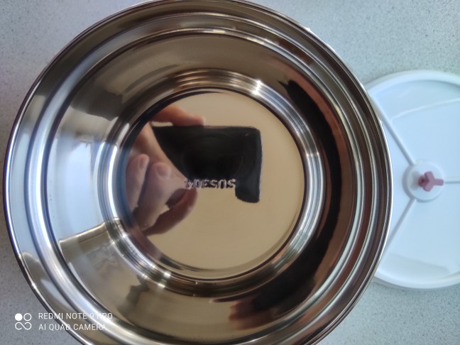 Circle Adhesive Kitchen Metal Dishware Container photo review