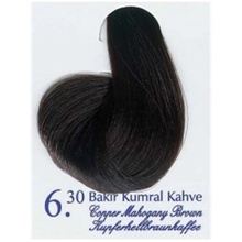 Akos краска для волос медная оберточная кофейная 6,30 410590222