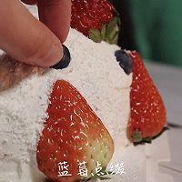 草莓雪球:满嘴草莓的幸福味道!的做法图解32
