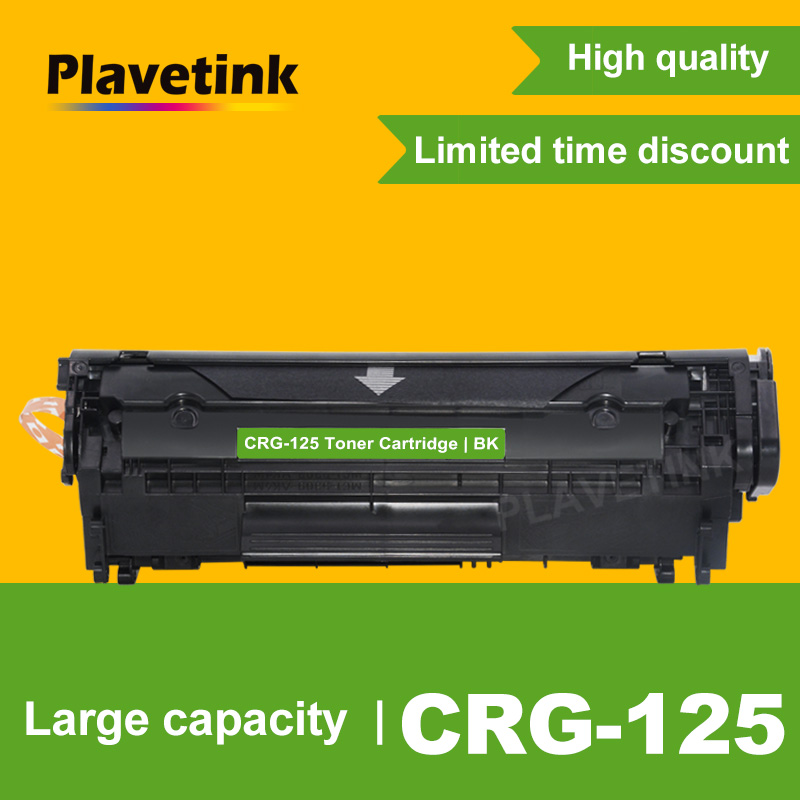 Plavetink Black CRG 125 Refillable Toner Cartridge for <font><b>Canon</b></font> CRG125 <font><b>LBP6000</b></font> LBP6018WL LBP6030w MF3010 Laser Printers image