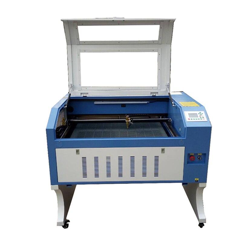 600*900mm Laser Engraver Cutter Machine 80w Ruida EFR W1 8mm Wood Diy Co2 Desktop Mini Linear Guide Y Axis RDworks