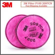 Filtro de Partículas 3M 2097CN P100, protección respiratoria estándar, nivel de incomodidad, alivio de Vapor orgánico, uso con mascarilla 3M K0430