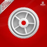 BWR5090 Electrical Power Window Regulator Motor Repair Gear 5010301993LH  5010301994RH for DAF Renault Trucks Teeth Number: 66