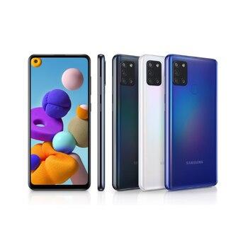 Перейти на Алиэкспресс и купить Samsung Galaxy A21s-смартфон 6,5 дюйм(4 Гб оперативной памяти, 64 ГБ внутренней памяти, wiFi, Восьмиядерный процессор, основная камера 48