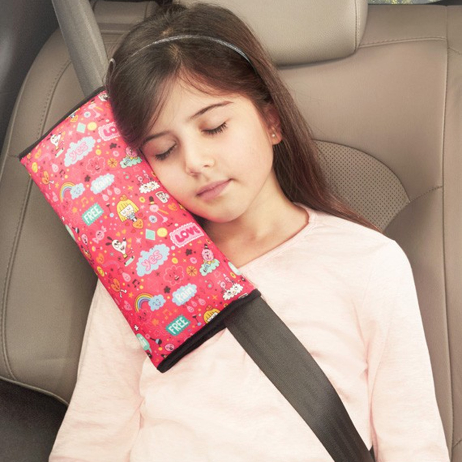 Ebebek Happy Hop Sleepyhead Safety Belt Pillow