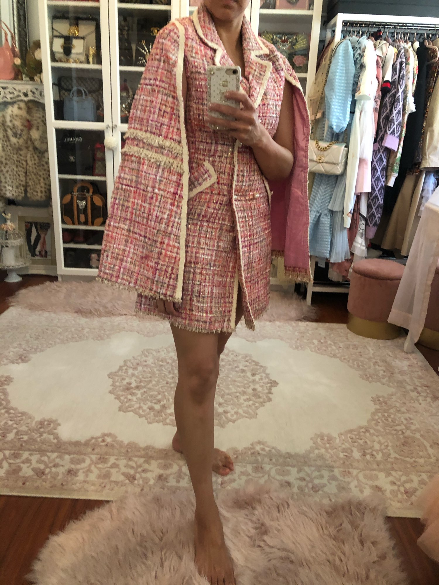 Beautiful dress cape