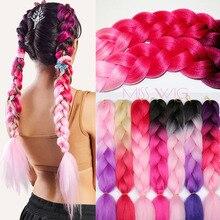 Synthetic Crochet Hair Jumbo