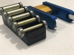TR Maker ленточная шлифовальная машина 2x72 маленький набор колес и держатель для ножевых шлифовальных машин