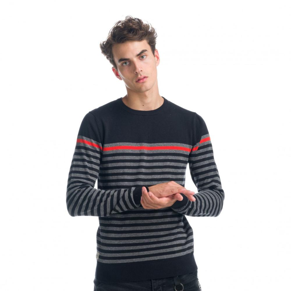 KOROSHI STRIPES JERSEY KNITTED THIN MAN