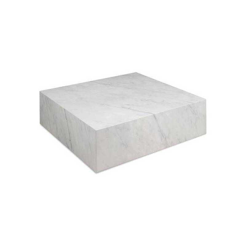 Coffee Table Cube (90x90x28 Cm) Marble
