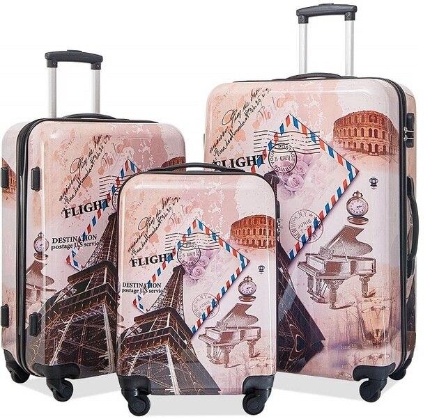 Jeux de 3 valises PARIS 1