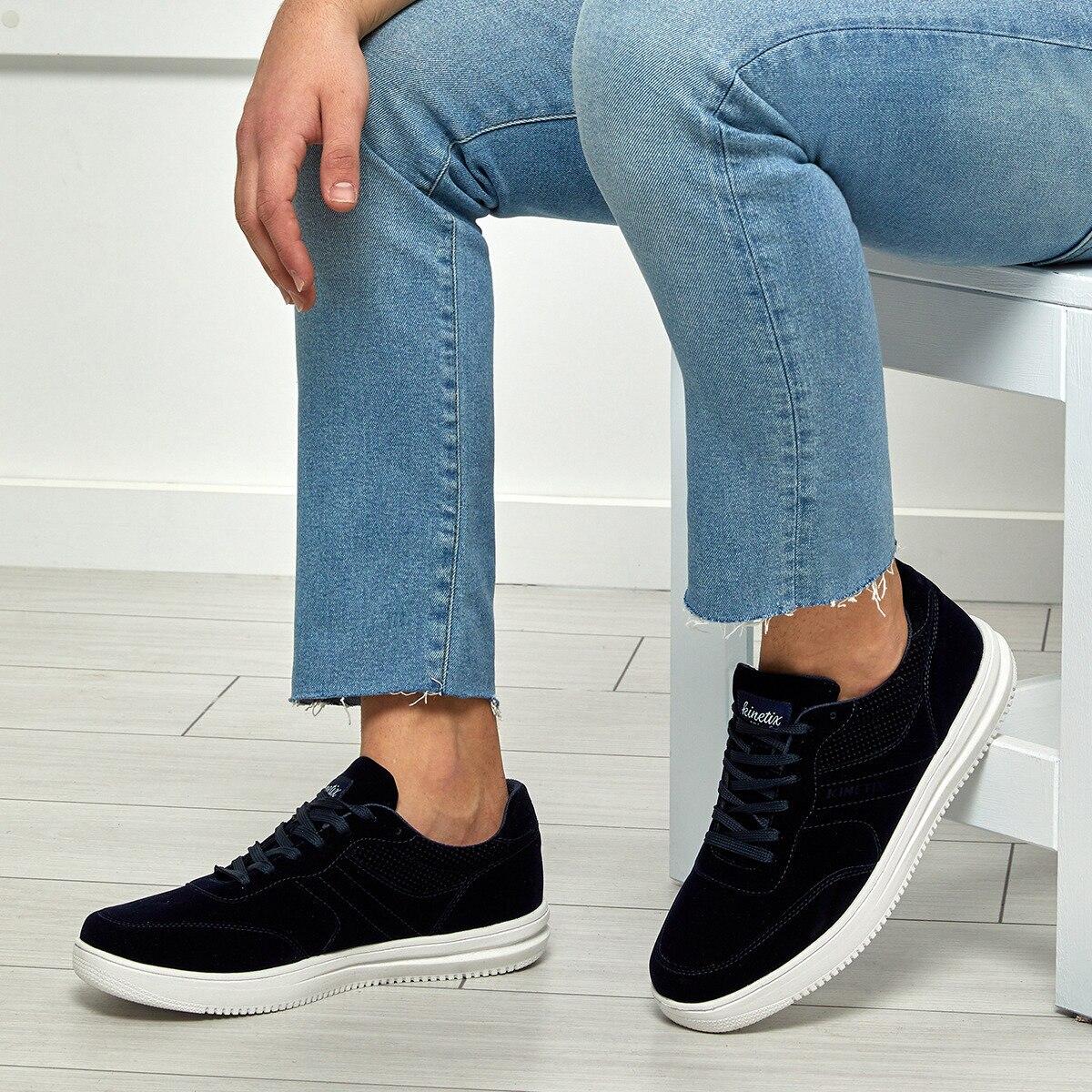 FLO BOARD Navy Blue Men 'S Sneaker Shoes KINETIX