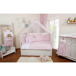 100% algodón A-QUALITY Hecho en Turquía infantil Lindo juego de ropa de cama para cuna de bebé parachoques para chico chica vivero Animal antialérgico