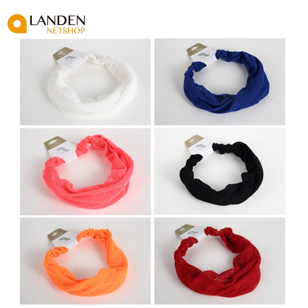 Didemas Hair Bands Korean Style Cotton For Women, Hair Accessories Fashion Style Mesh Leisure Yoga