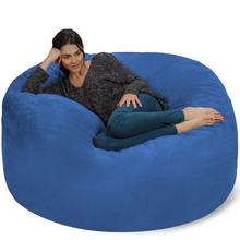 top Selling Extra Large 4 Bean Bag Chair Covers Replacement Comfy Beanbag Without Filling