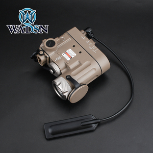 Image 5 - WADSN Softair Flashlight IR Lazer Red Dot Laser DBAL D2 Multifunction White Light DBAL MKII Tactical Battery Case Weapon Lights