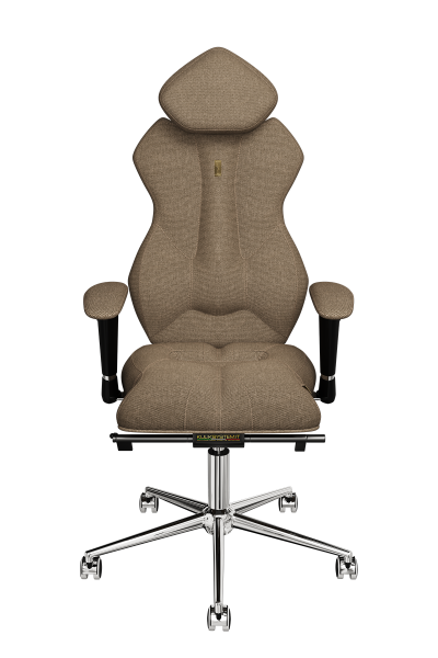 Office Chair KULIK SYSTEM ROYAL Caramel Computer Chair Relief And Comfort For The Back 5 Zones Control Spine