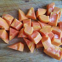 木瓜牛奶银耳羹的做法图解5