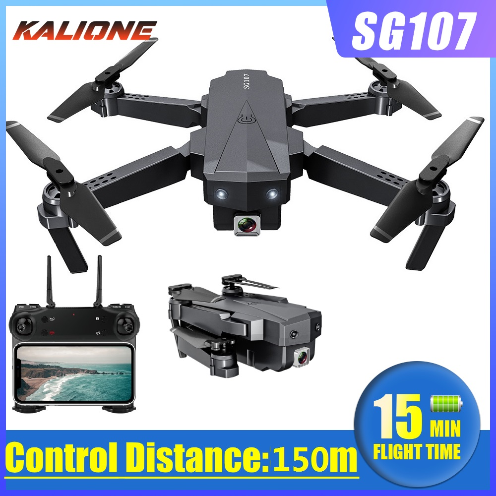 SG107 Camera Drone 4K WIFI FPV Quadrocopter Mini Quadcopter drones with camera hd Gesture Control Rc Dron helicopter toy vs E58
