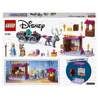 Конструктор LEGO Disney Frozen Дорожные приключения Эльзы 3