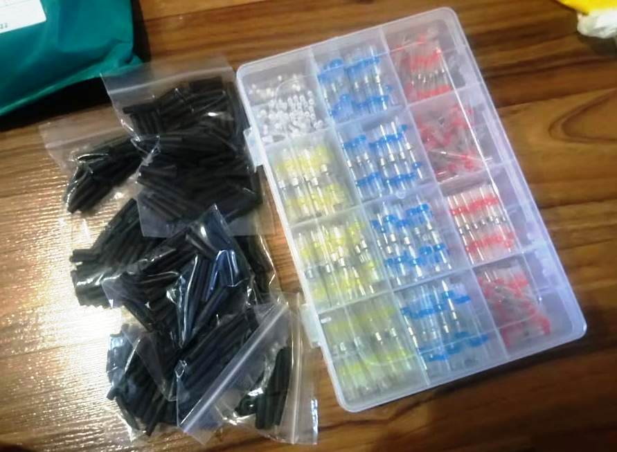 WATERPROOF SOLDER WIRE CONNECTOR KIT photo review