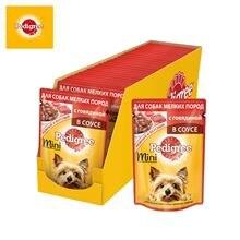 Влажный корм для взрослых собак маленьких пород Pedigree c г